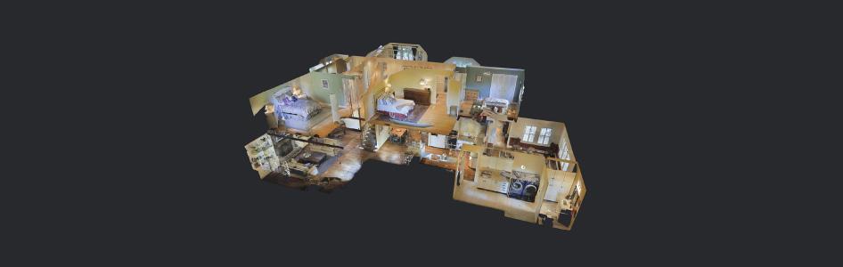 360* 3D Virtual Tours Dollhouse View